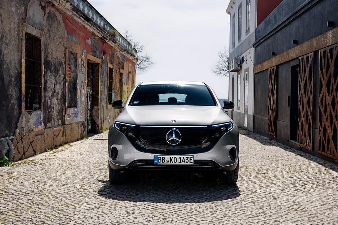 Merecedes-Benz EQ - marquee magazine automotive article