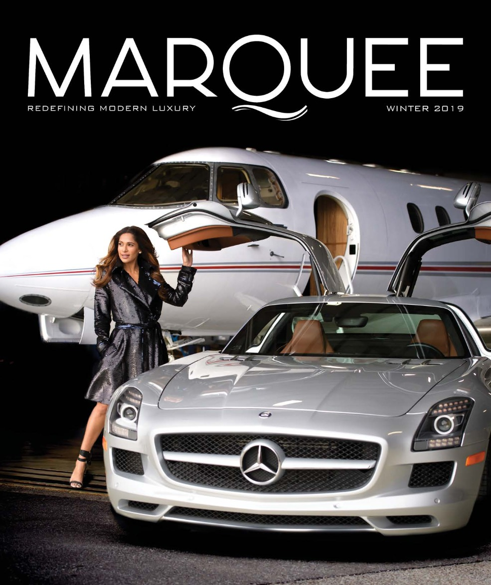 MarQuee Magazine Winter 2019 Issue Cover
