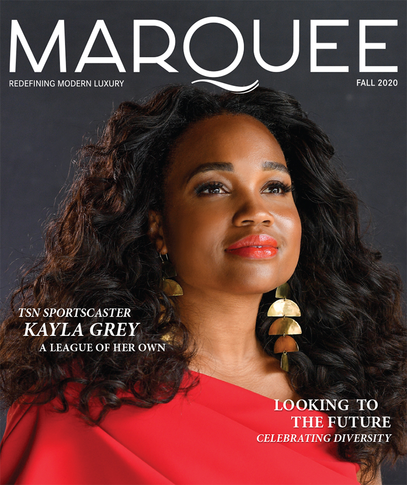 MarQuee Magazine Fall 2020 Issue with TSN Kayla Grey